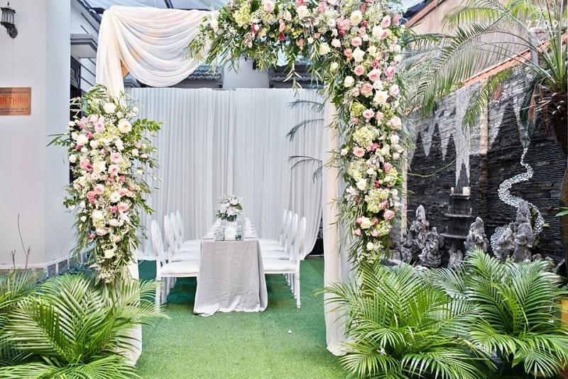 cổng cưới đẹp 2020