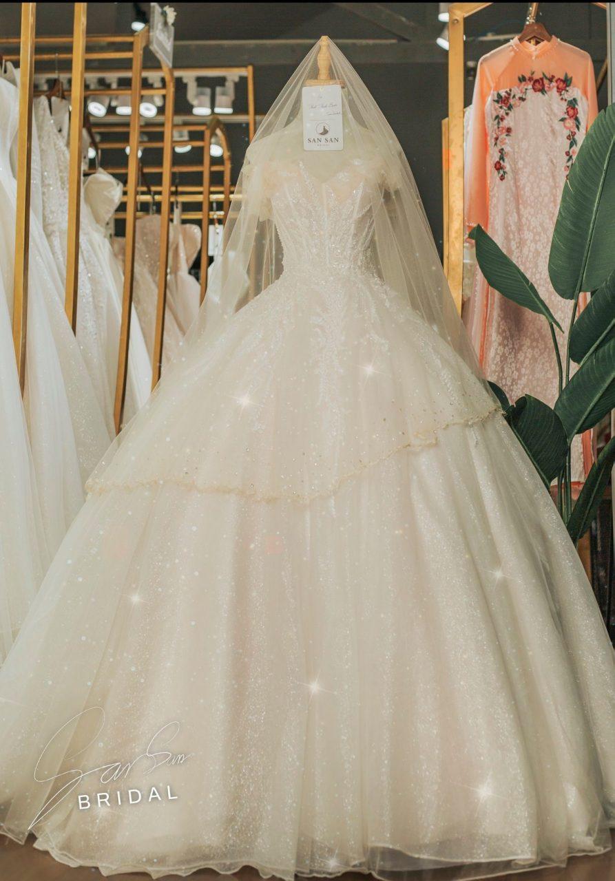 Váy cưới cô dâu đẹp 2020