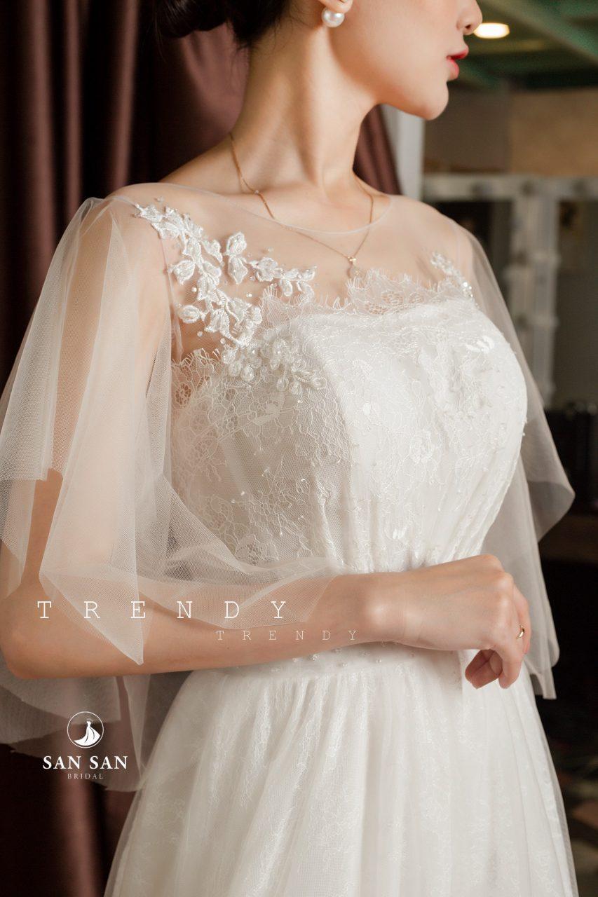 Váy cưới co dâu đẹp