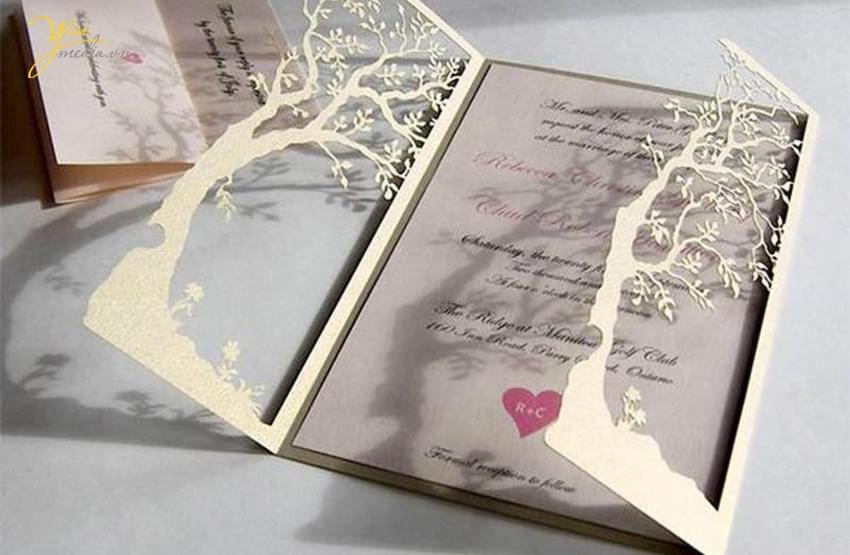 Lưu ý viết thiệp cưới