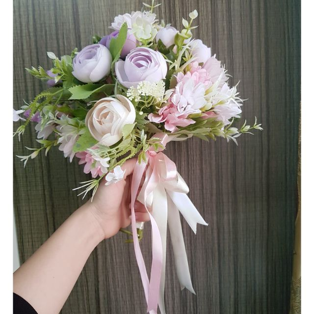hoa nhựa cưới