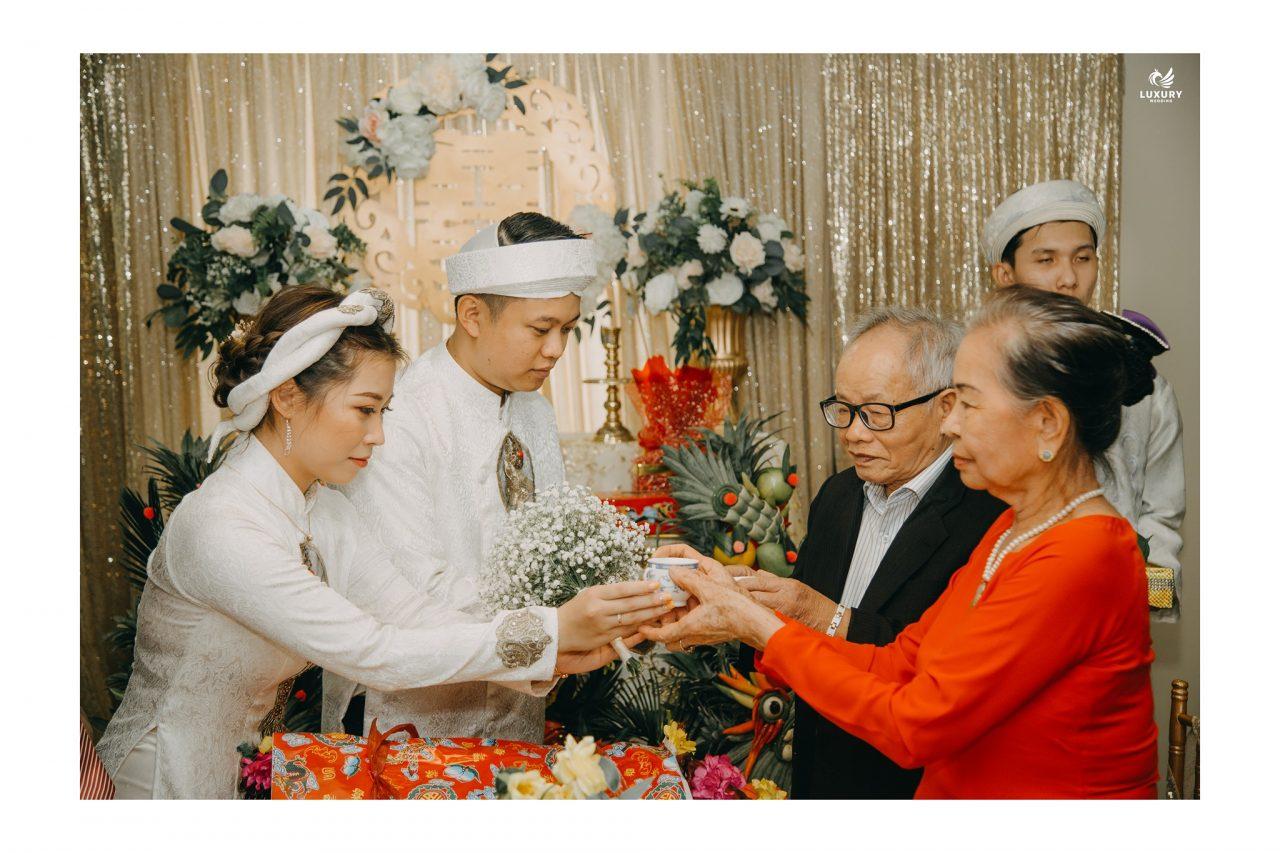 trình tự lễ cưới