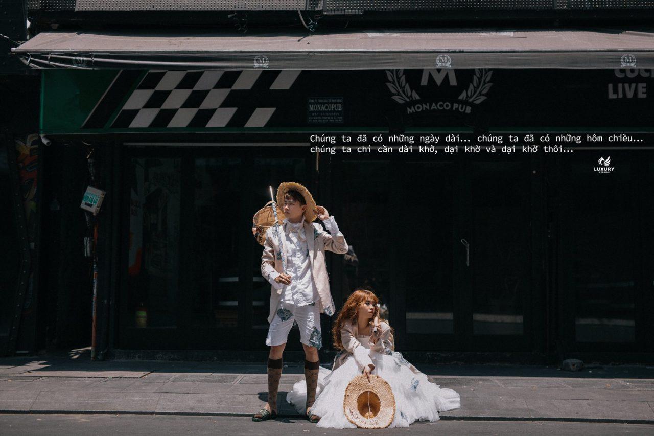 concept chụp ảnh cưới mùa dịch