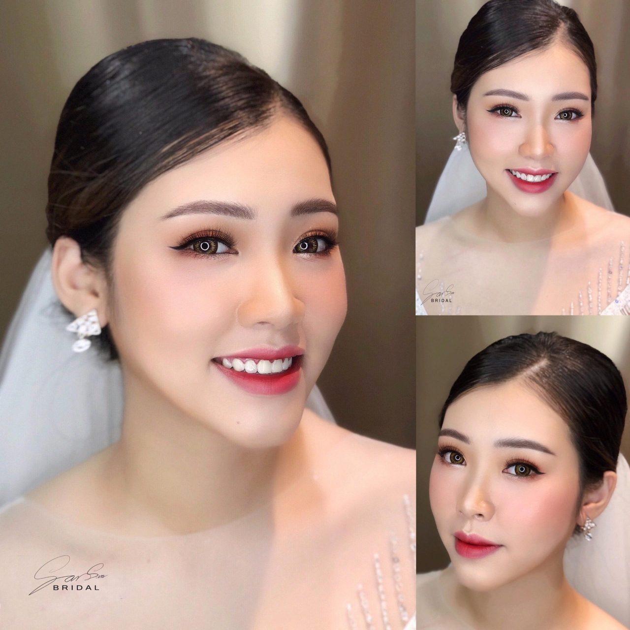 makeup cô dâu