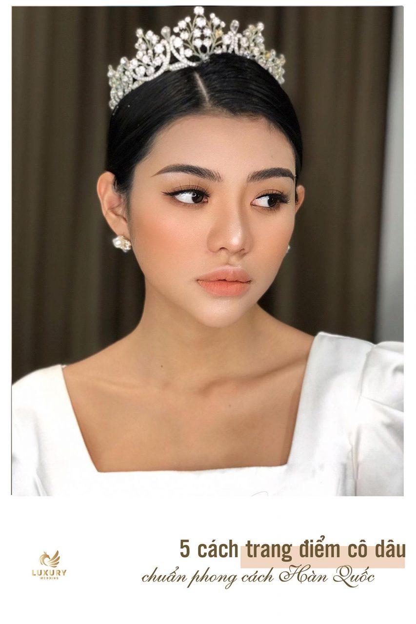 makeup phong cách hàn quốc kiểu ngọt ngào