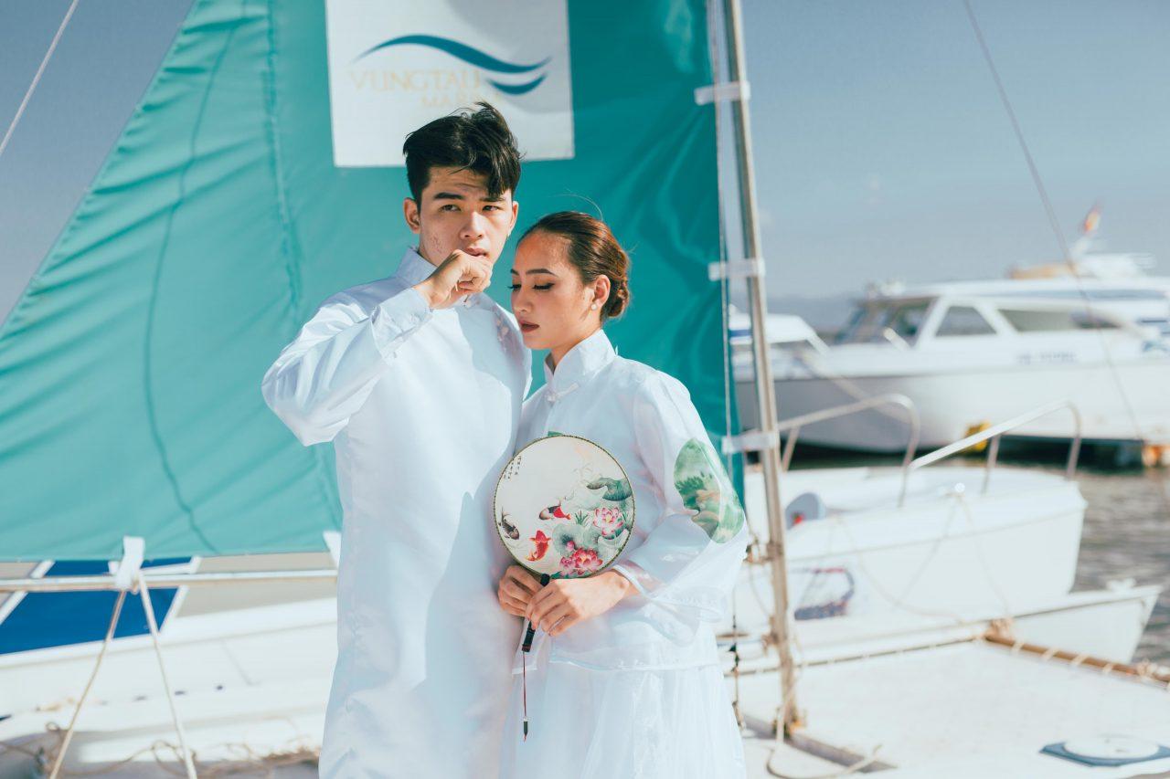 chụp ảnh cưới đẹp Hồ cốc