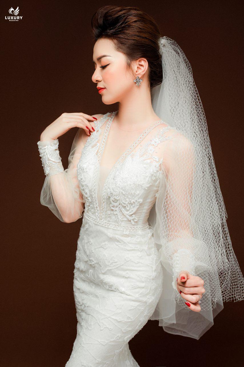 chụp ảnh cô dâu