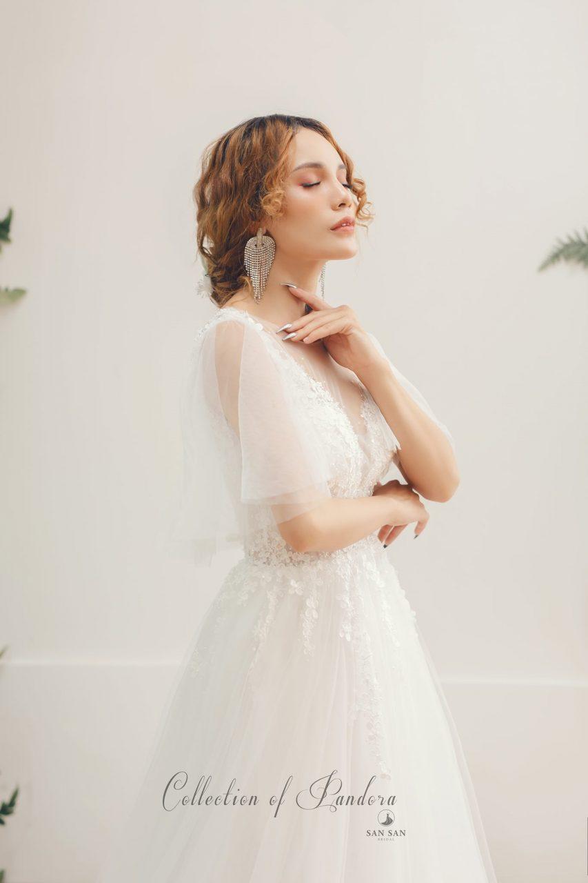 áo cưới sang trọng