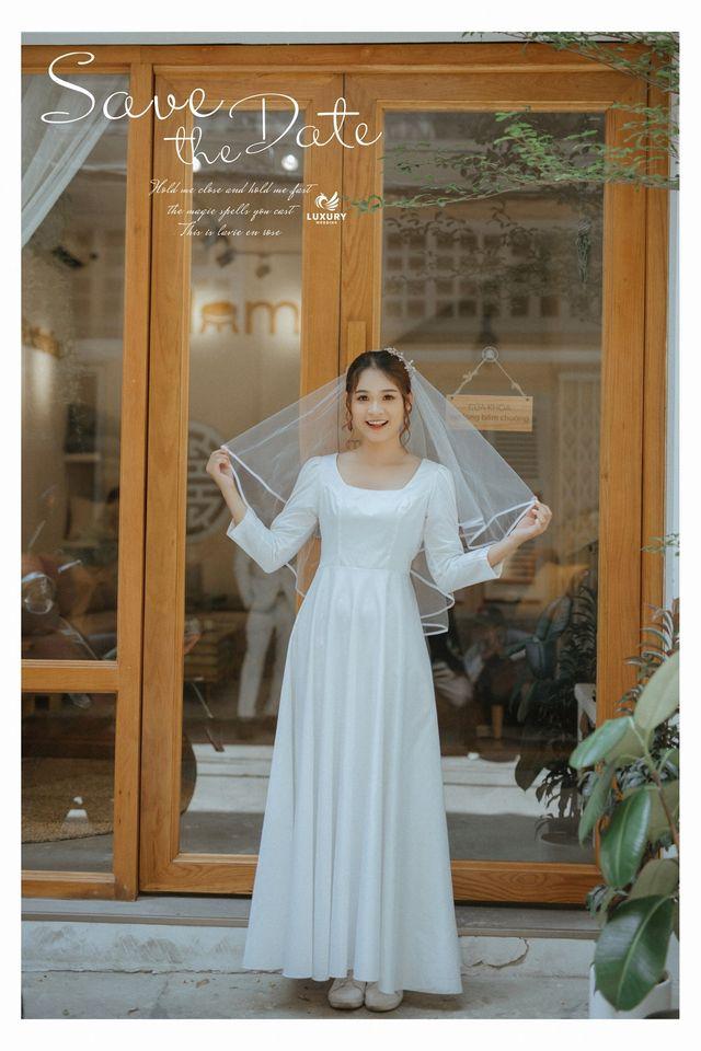 chụp ảnh cưới cô dâu