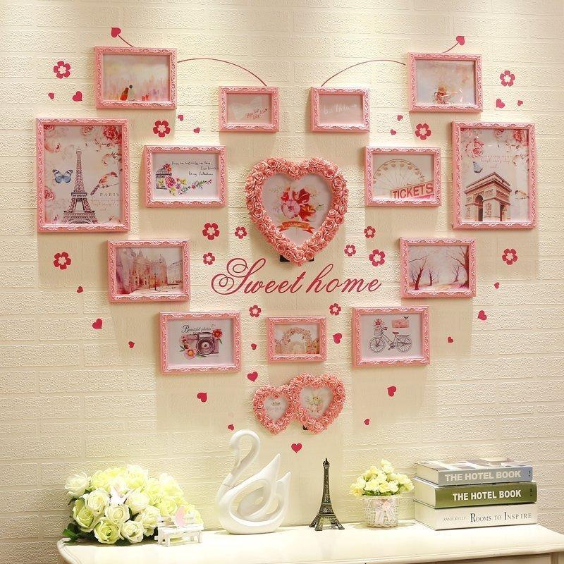 trang trí phòng cưới bằng ảnh cưới