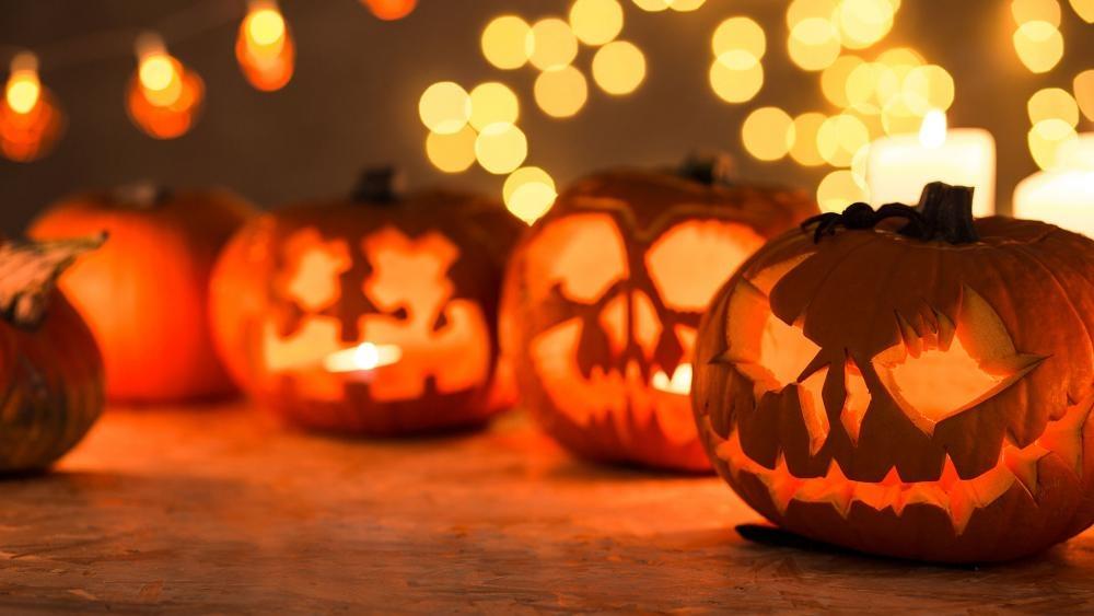 bí đỏ ngày halloween