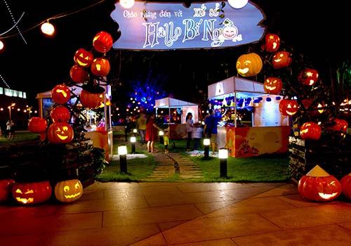 đi chơi halloween
