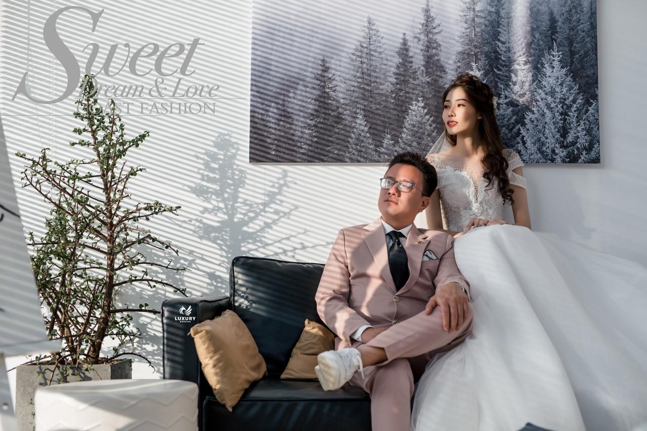 Chụp ảnh cưới Đà Lạt lãng mạn